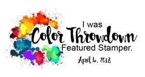 Color Throwdown Challenge Featured Stamper Logo