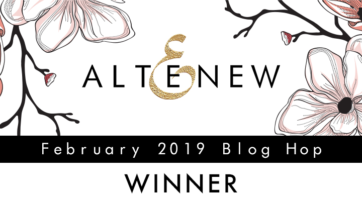 Altenew February 2019 Blog Hop Winner