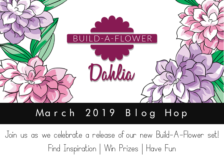 BAF Dahlia Blog Hop Graphic