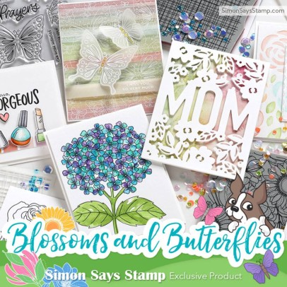 Simon Says Stamp Blossoms and Butterflies