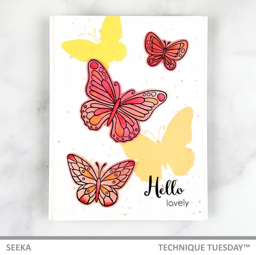 Seeka - Beautiful Butterflies - Friendly February 1