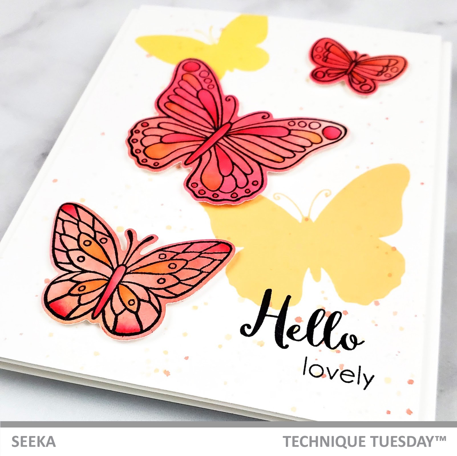 Seeka - Beautiful Butterflies - Friendly February 2