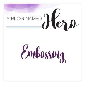 Embossing Challenge